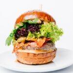 burger chuck roll
